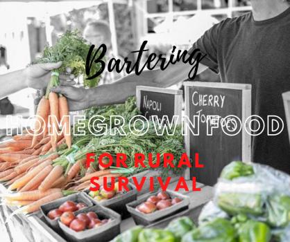 Bartering Homegrown Food
