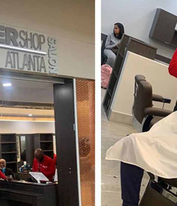 First Black-Owned Barbershop Inside Atlanta's International Airport