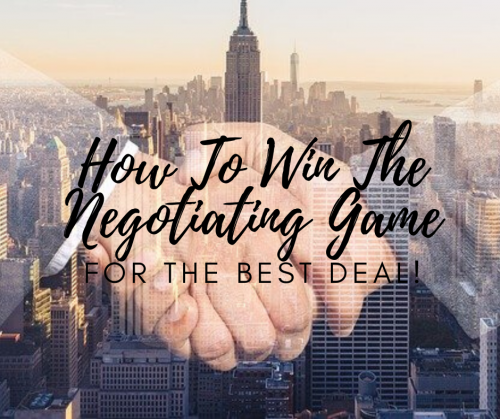 How To Become A Negotiator
