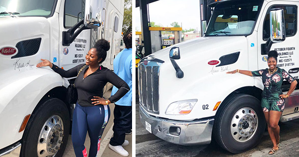 Yes, Black Women Own Trucking Companies Too