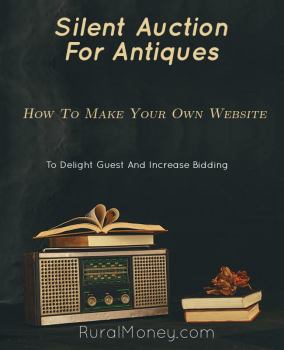 Silent Auction For Antiques: Make Your Own Website