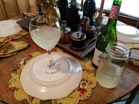 Sparkling Prison Wine